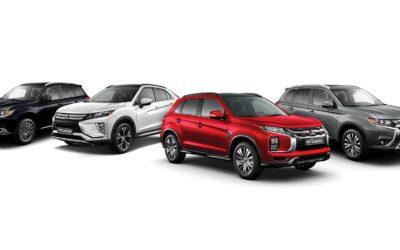 2020 Mitsubishi Line Up