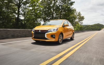 2021 Mitsubishi Mirage receives extensive styling and content updates (U.S. Prototype)