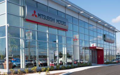 New, modern look for Mitsubishi Motors dealers