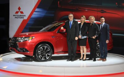 All-new 2018 Mitsubishi Outlander PHEV at the Montréal International Auto Show