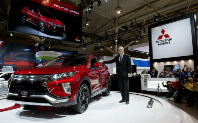 Tony Laframboise unveils the all-new 2018 Eclipse Cross