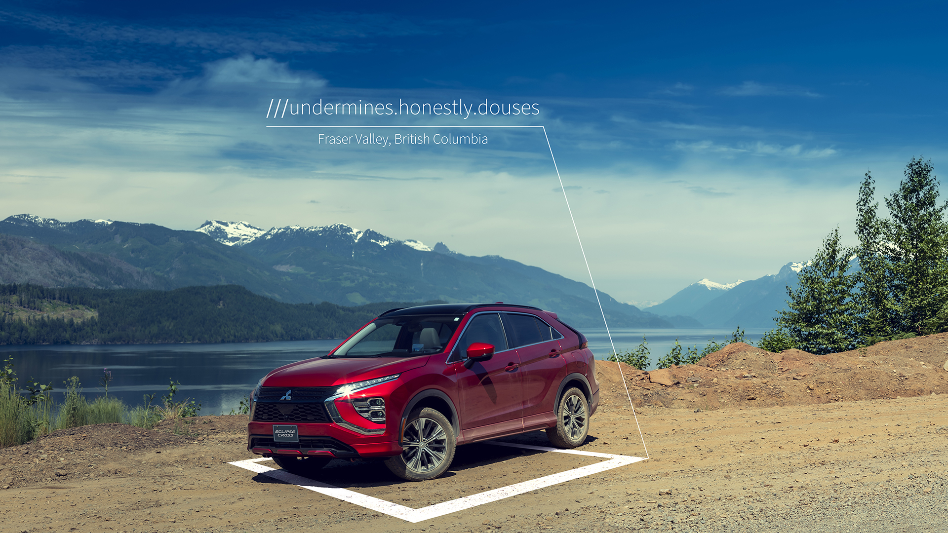 2022 Mitsubishi Eclipse Cross With what3words Offline (Fraser Valley-2)
