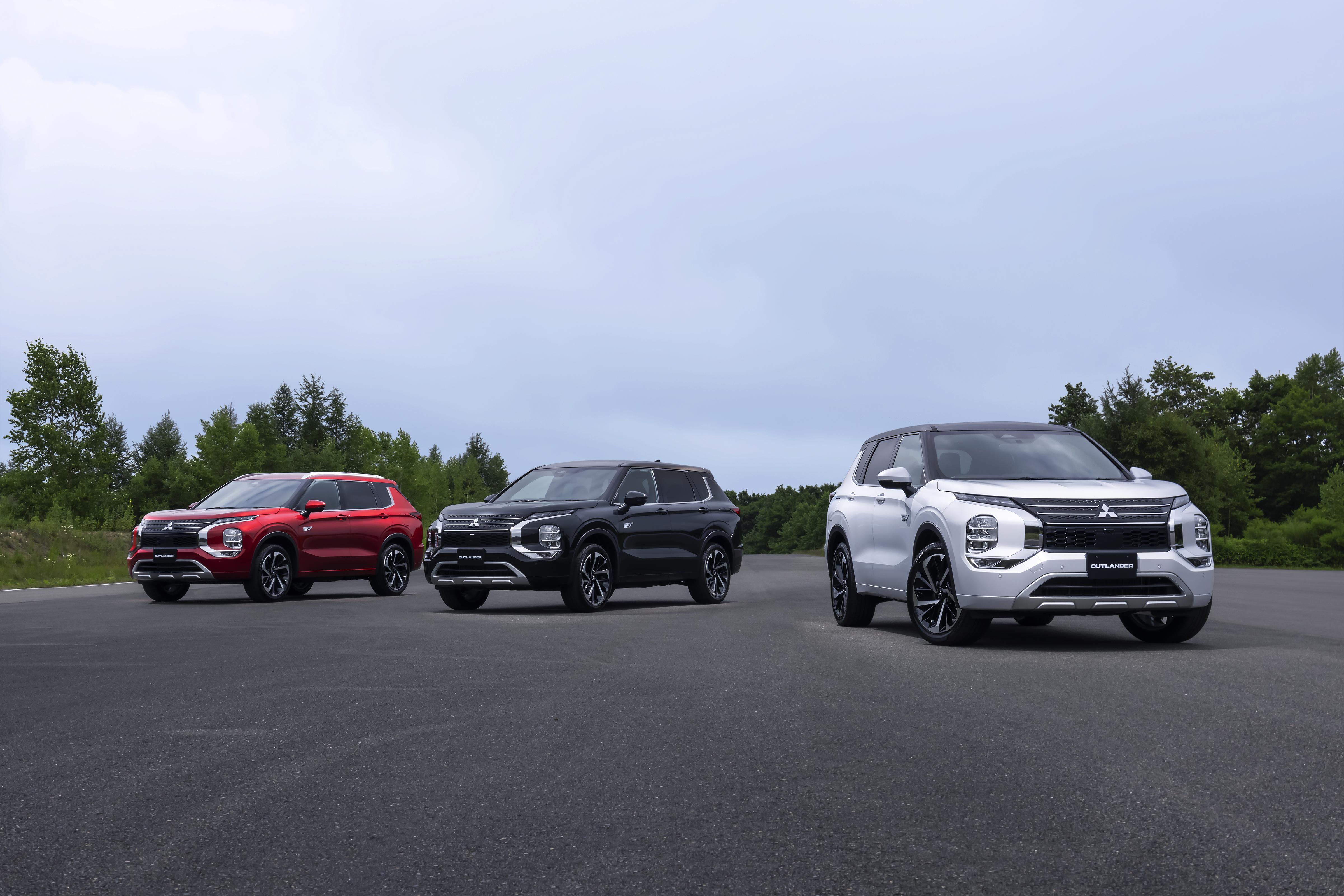 Nouveau modèle Mitsubishi Outlander PHEV